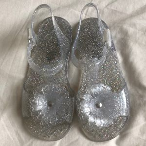 Old Navy Jelly glitter sandals size 9 $6